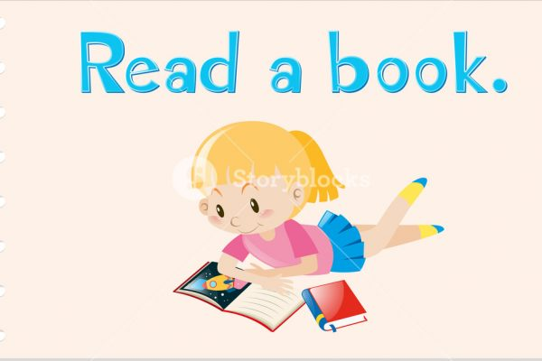 graphicstock-flashcard-with-action-word-read-a-book-illustration_H2HlbqyOEig_SB_PM